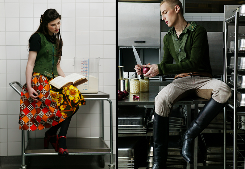 Globe Hope AW 2006 / redifined army wear and vintage fabrics