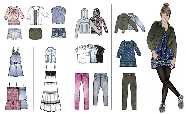 H&M Divided 2010 / Current fashion