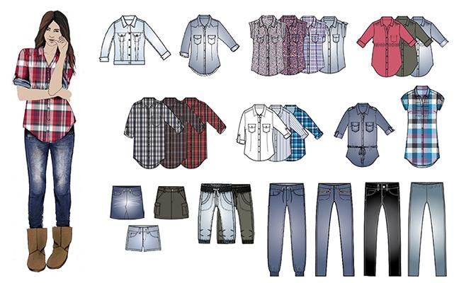 H&M Divided 2010 / Wardrobe essentials