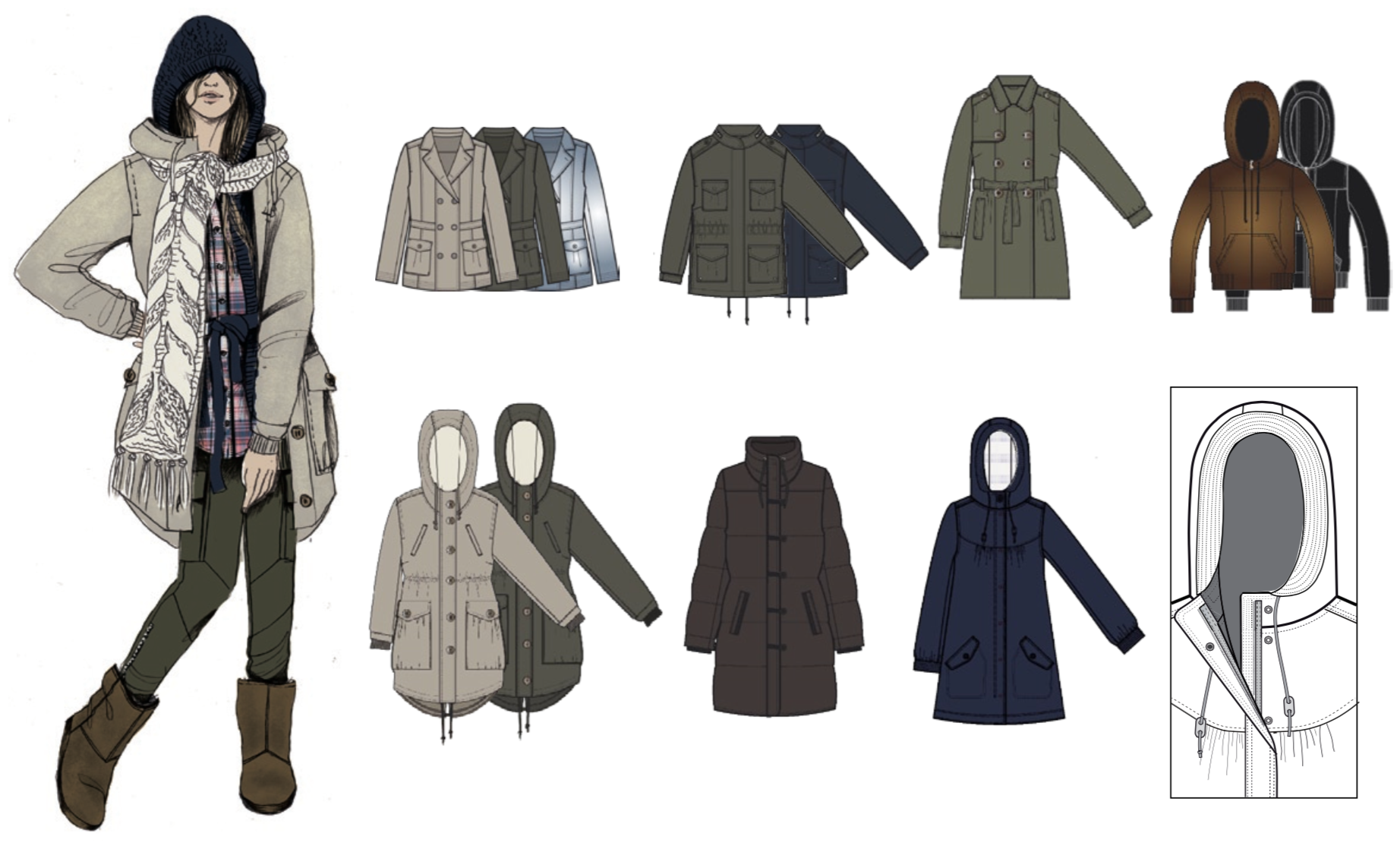 H&M Divided 2010 / Outerwear