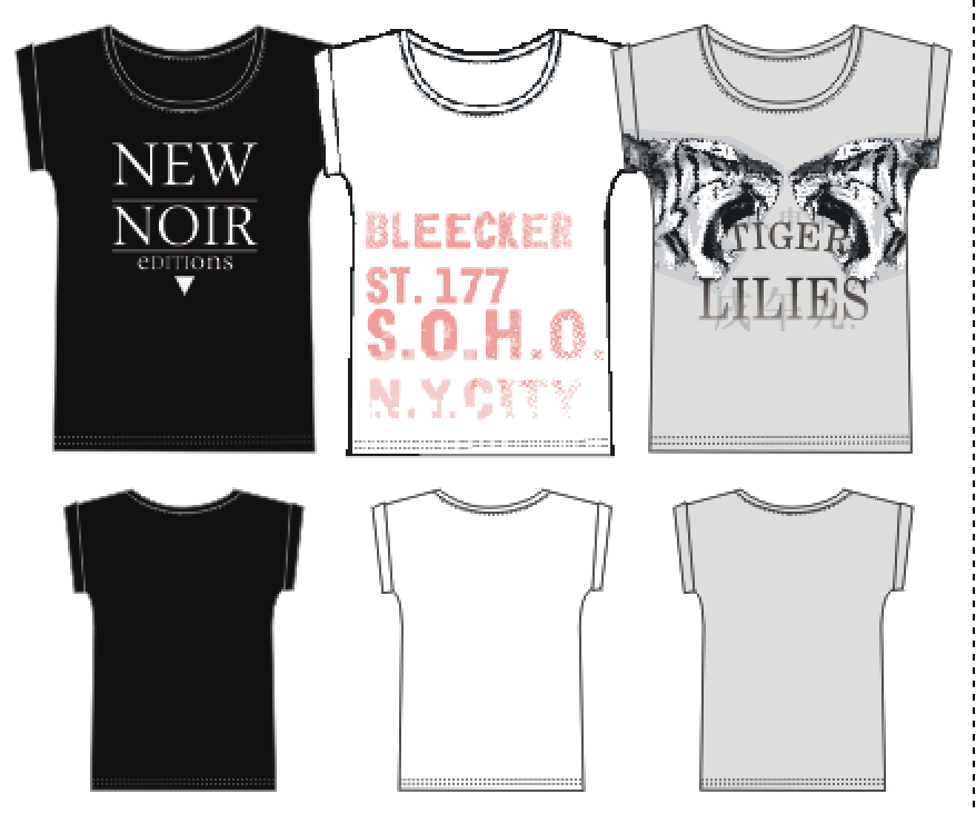LINK AW 2014 /T-shirt prints