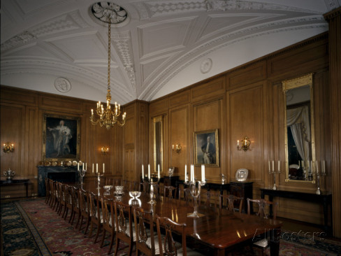 The State Dining Room at 10 Downing Street