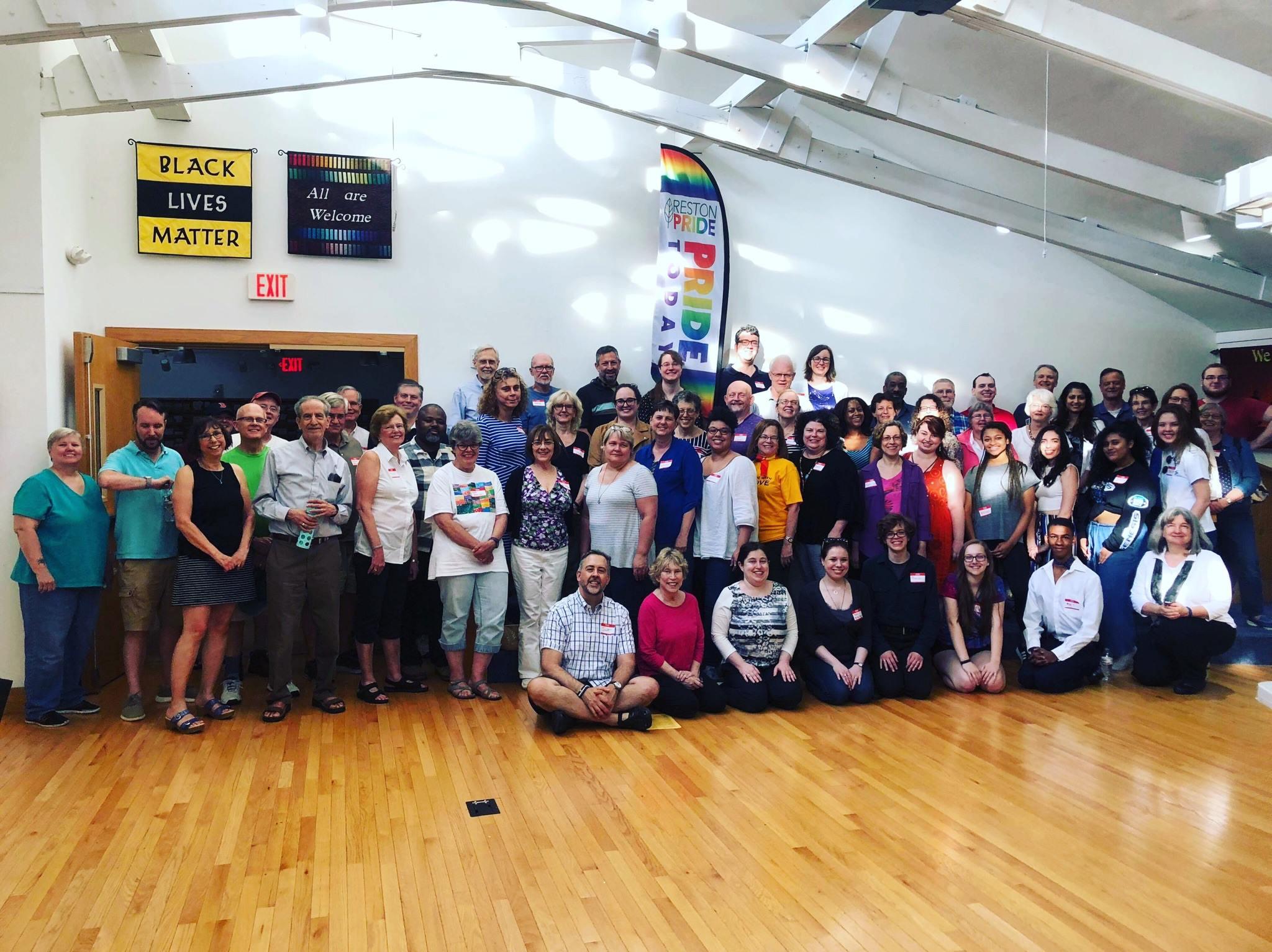 Our 60+ volunteers made Reston Pride amazing!