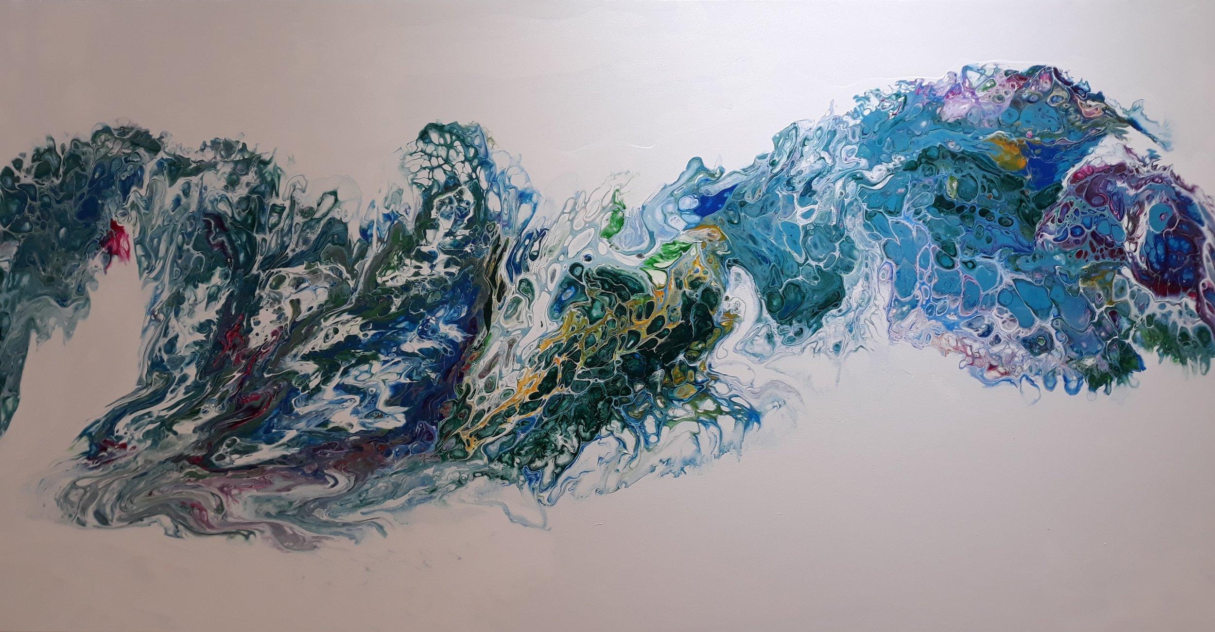 Acrylic Pouring, Tara Travia