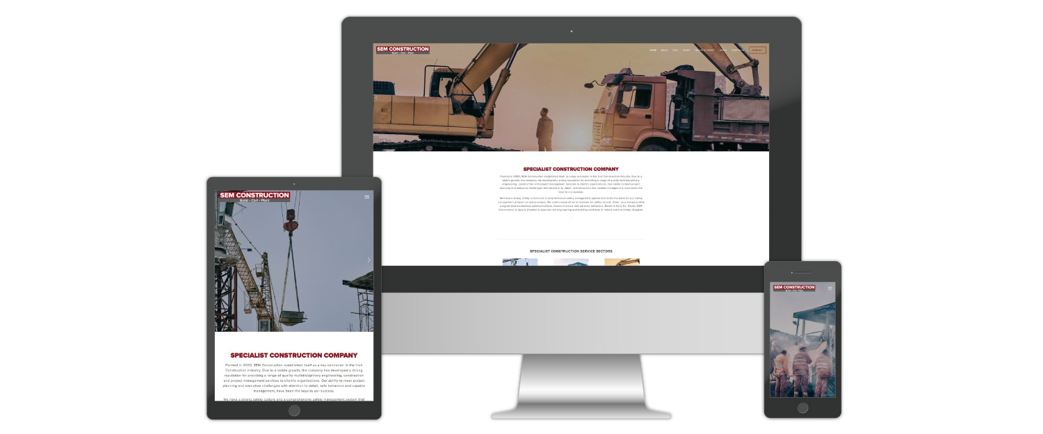 Construction Industry Website