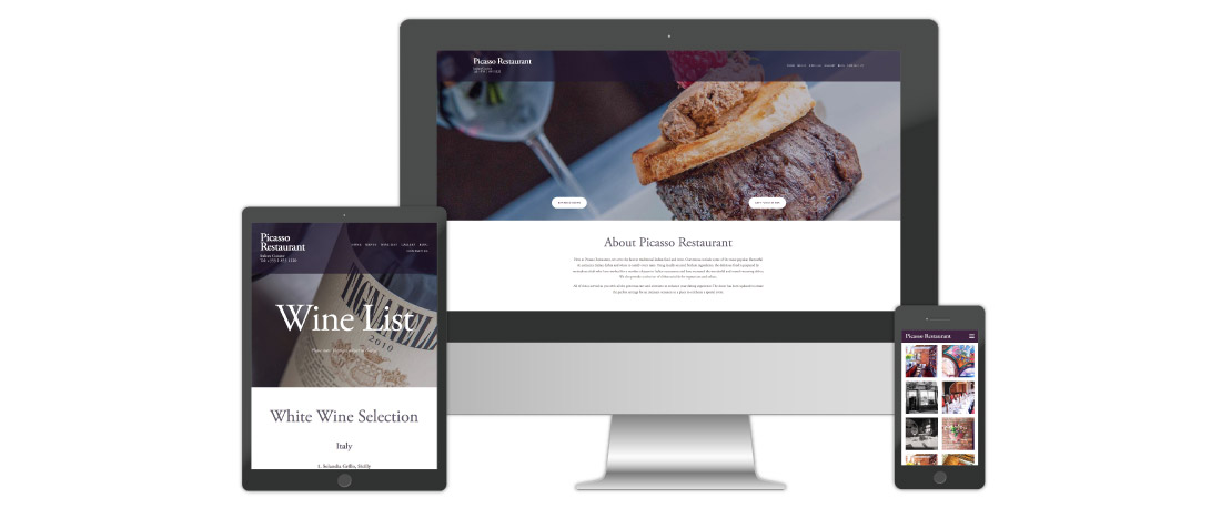 Web Design for Restaurants