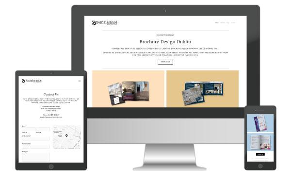 Brochure Website Design