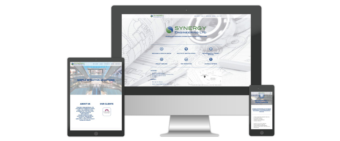 Engineering Services Website Design