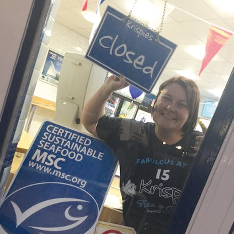 We did it! We sold 1,500 portions of Fish and Chips for Charity and it's only 6.00pm!