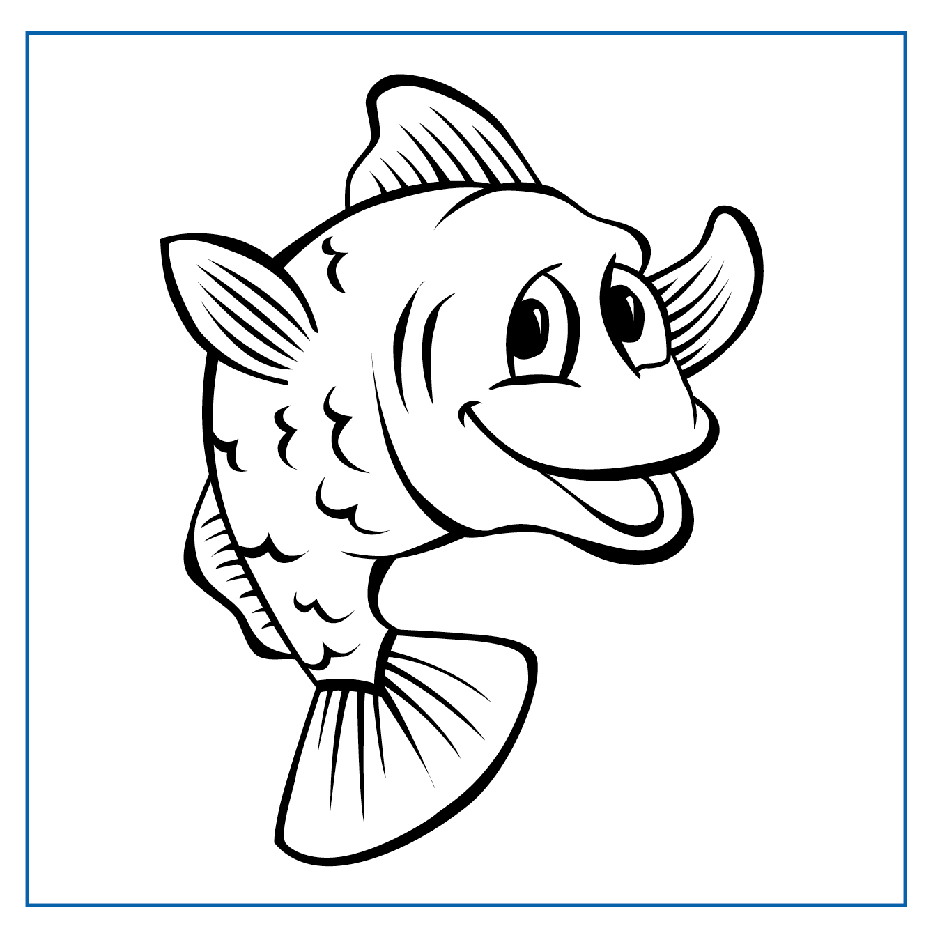 Charlie Cod - Click on my picture to print me out and colour me in