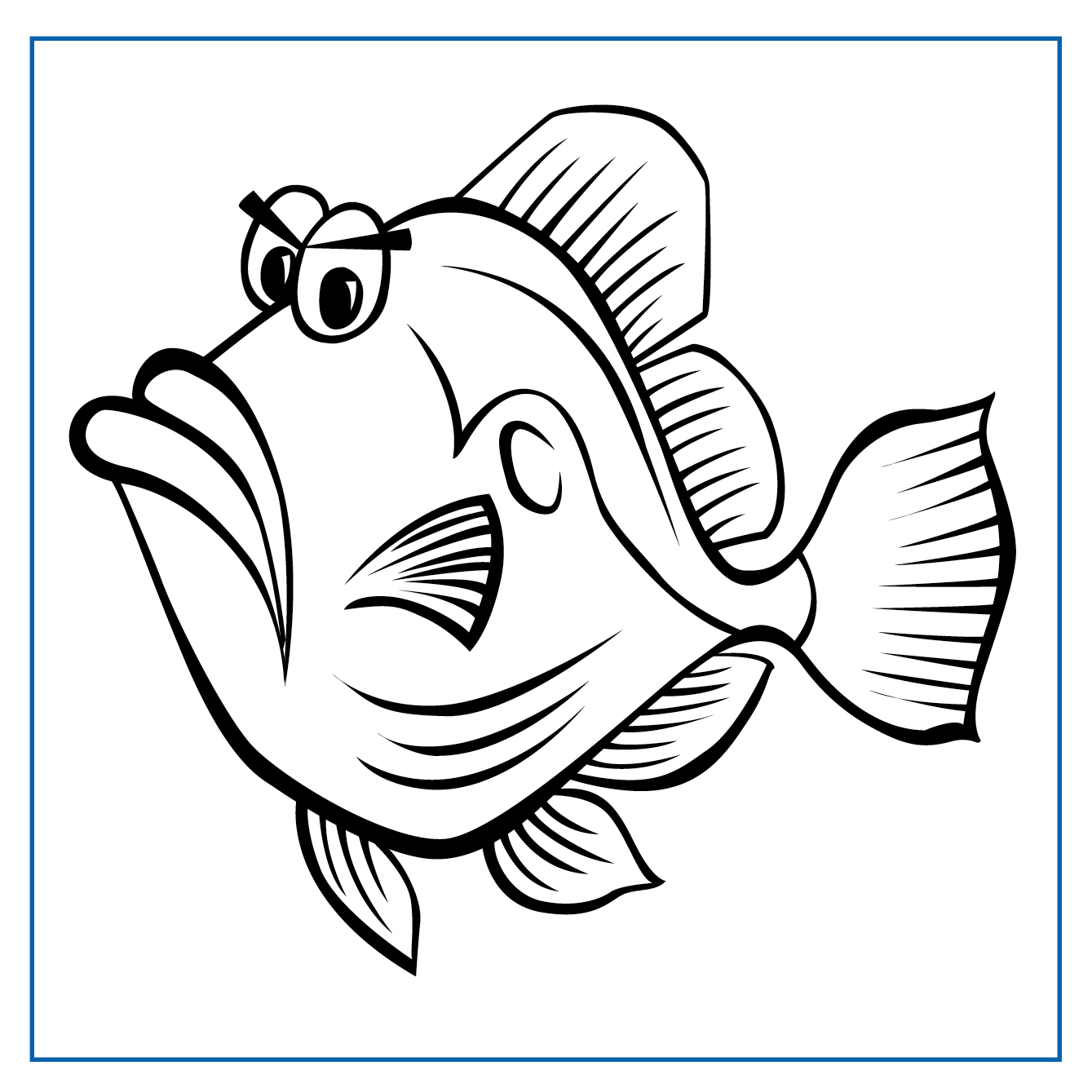 Peter John Dory - Click on my picture to print me out and colour me in