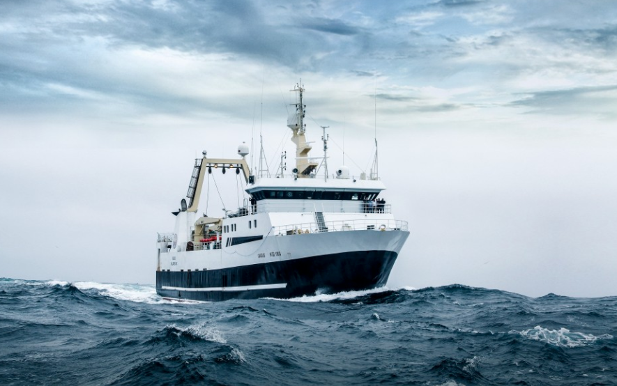 Gadus is one of the factory trawlers that catches Krispies Fresher than Fresh Fish