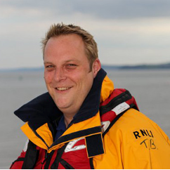 Our very own Tim is a volunteer crew member for Exmouth RNLI. All proceeds from the Fish & Chip Ball will go direct to Exmouth RNLI.