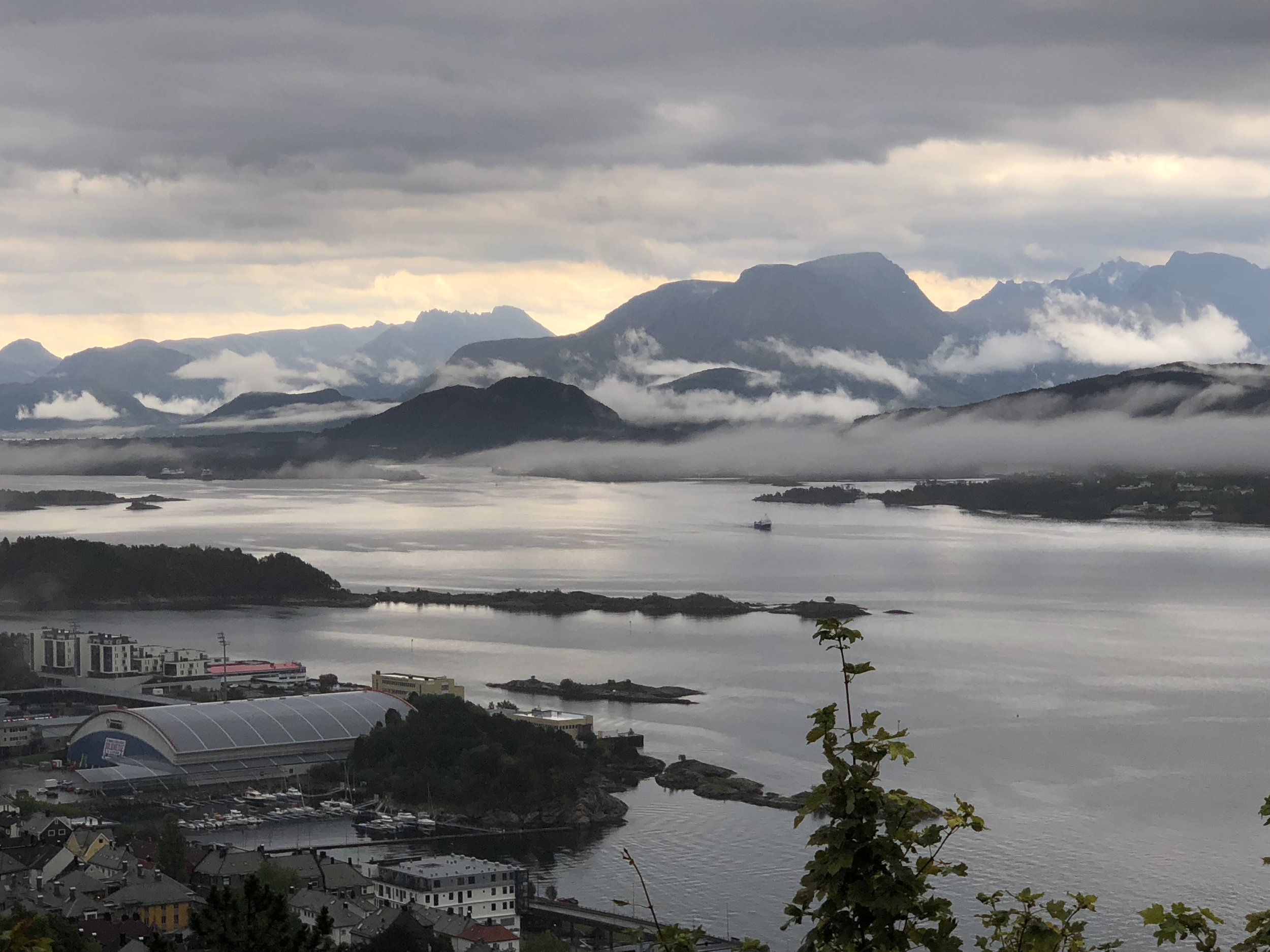 Beautiful Norway. Home to only 5 million people, less than London.