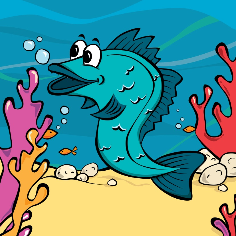 Jake Hake - Habitat: Deep sea waterOrigin: Atlantic OceanLikes: Eating anythingFact: Jake's first cousins are Charlie Cod and Hollie HaddockColour in Jake Hake