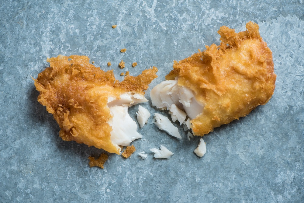 All our cod is from the North Atlantic and from sustainable and certified stocks.