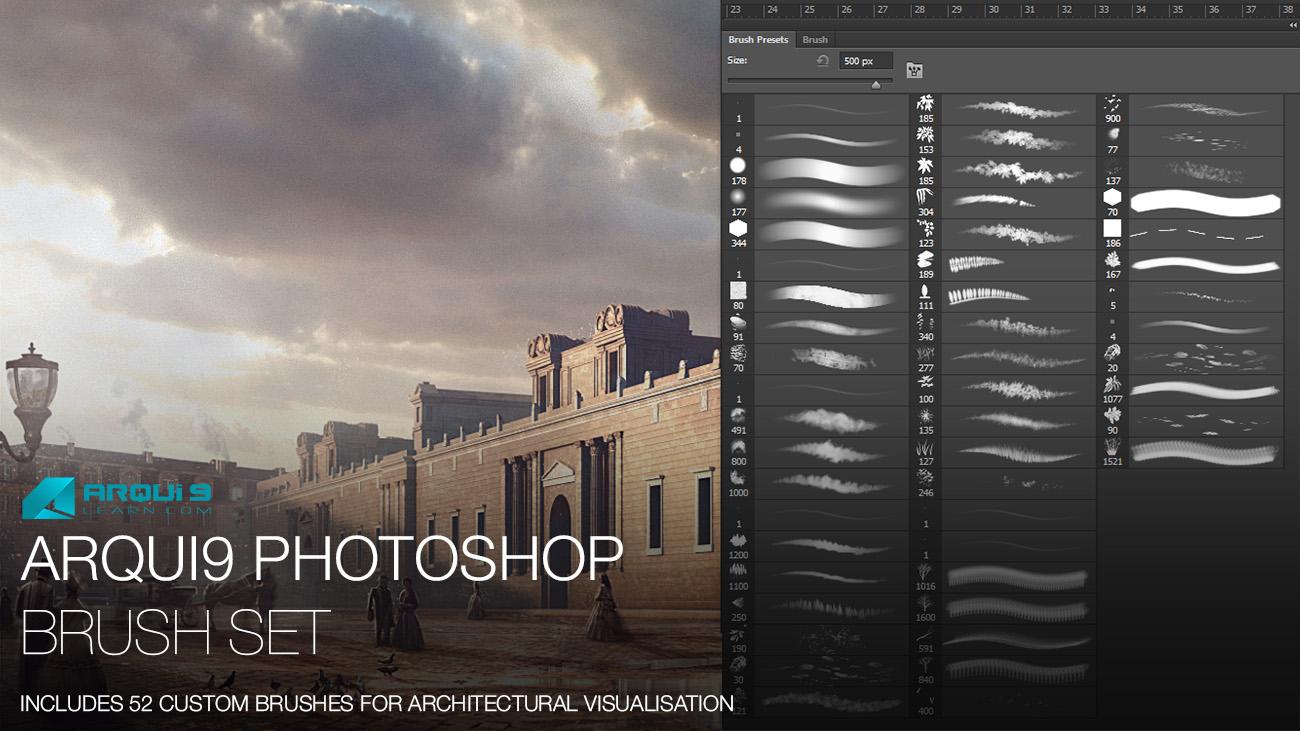 Photoshop Brushes — Arqui9 Learn