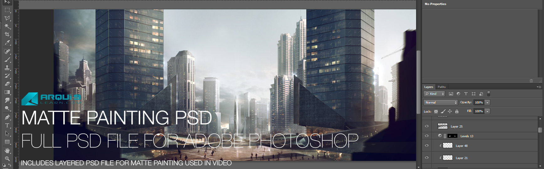 Click to buy the PSD Photoshop file and view the various steps below within it.