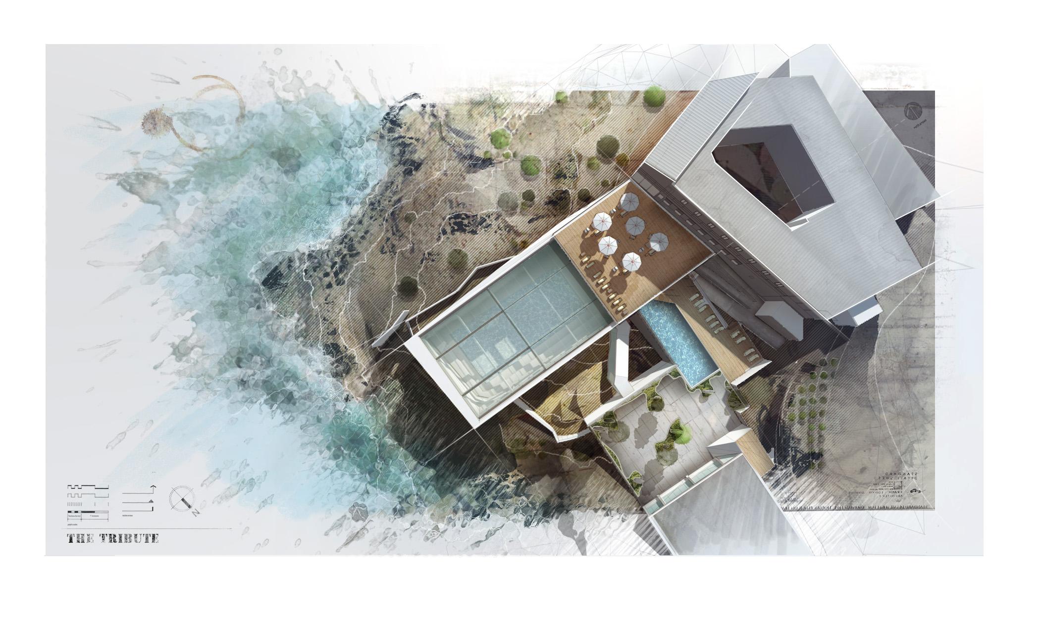 Final Architectural Plan Illustration