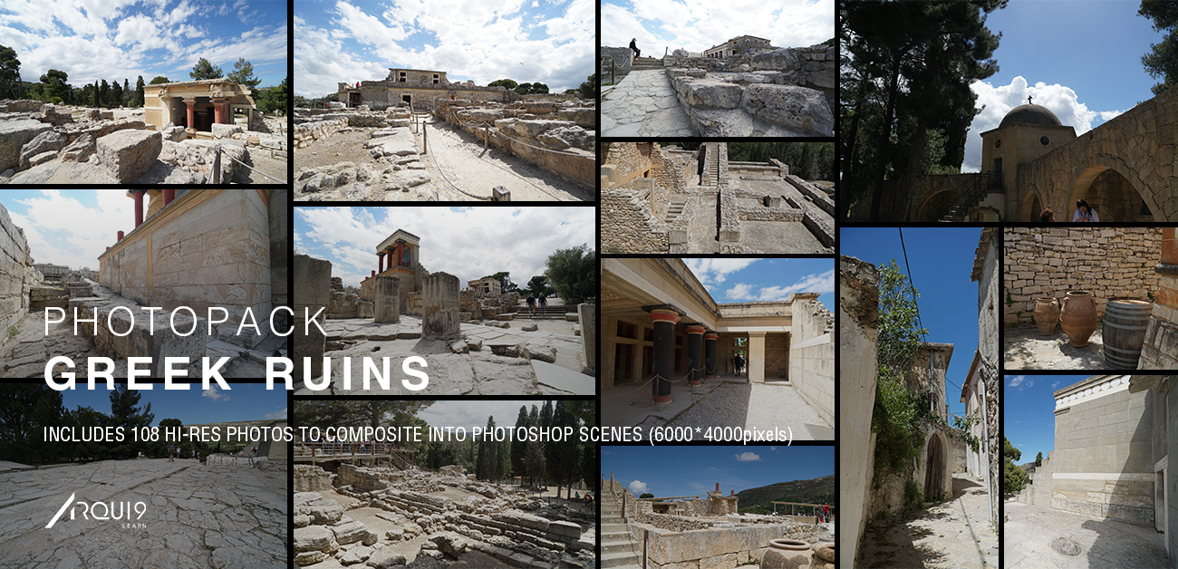 Check out our latest Photopack - It contains 108 beautiful Greek ruins from the Island of Crete. See the thumbnails  here