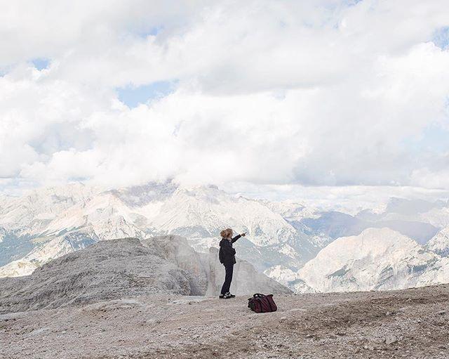 Tofana di Rozes, 2018. . . . . . . . #mountain #landscapephotography #documentaryphotography