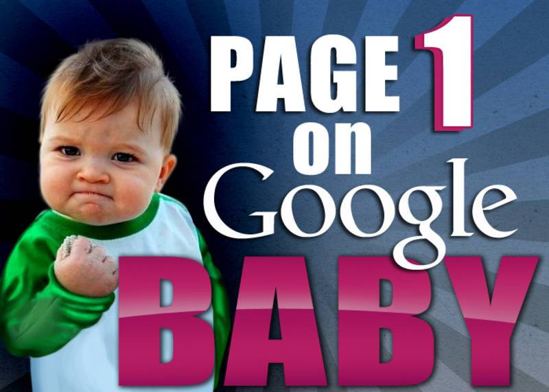 Get On Page 1 Of Google In 30 Days or Less!