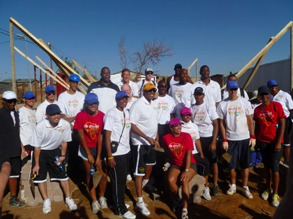 HABITAT FOR HUMANITY PROJECT BUILD IN JOHANNESBURG, SOUTH AFRICA