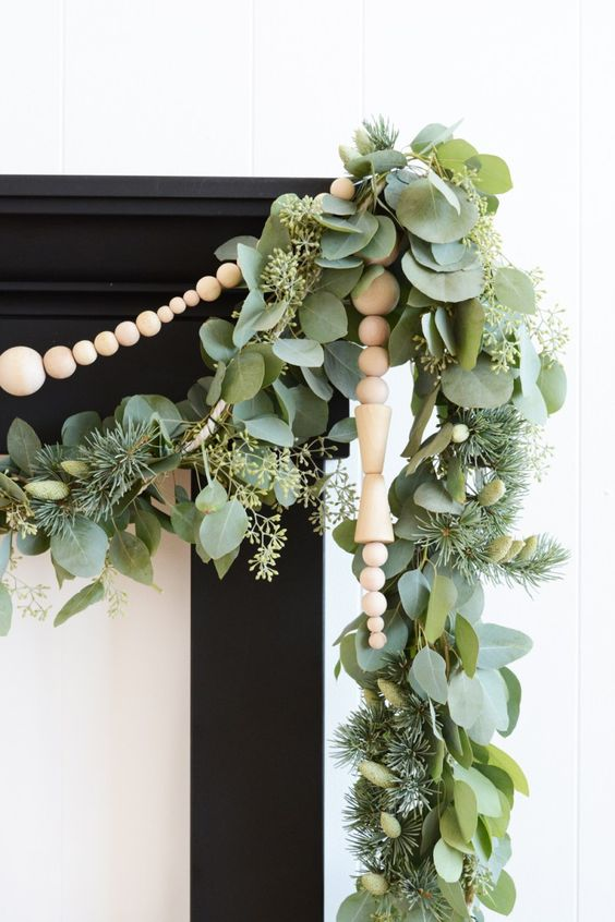 - I especially love these Scandinavian Wooden Bead Icicles, which give a toy-like feel to your decorations! This is great for homes with little ones.
