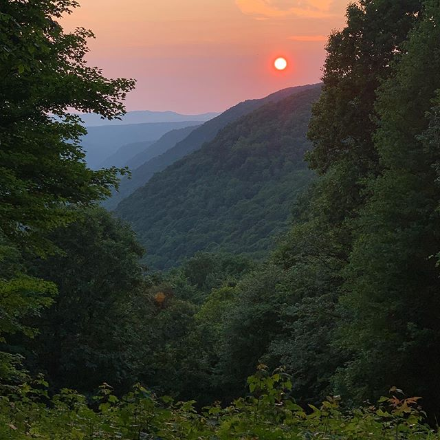 #westvirgina wild and wonderful ♥️🌄