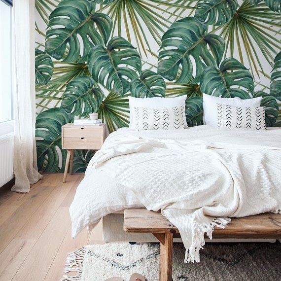 dreaming about summer wallpaper... @etsy has tons of peel and stick options! @coloraydecor