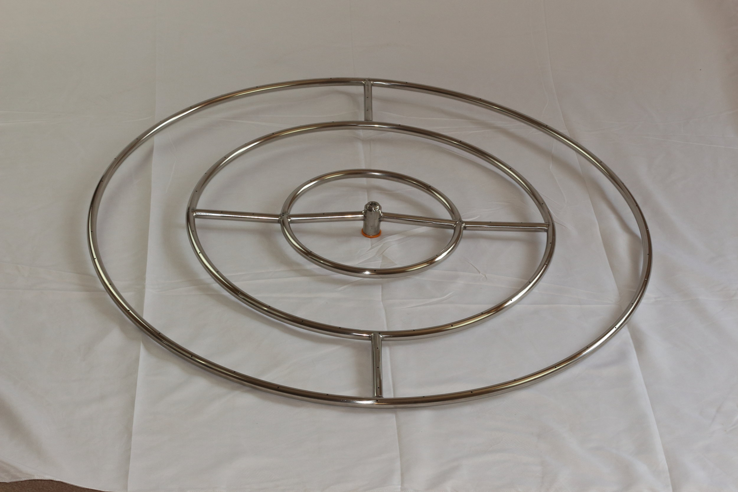 Gas Fire Pit Burner Ring Insert By Hpc
