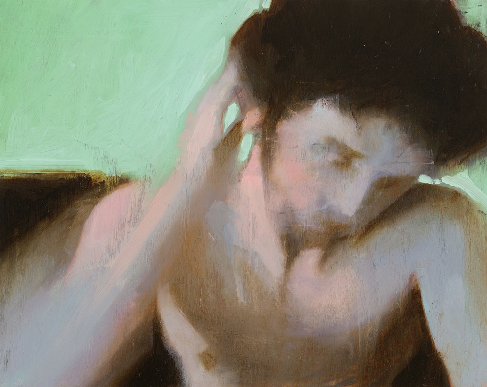 Screen Grab No. 3   8 x 10 inches  oil on panel - SOLD