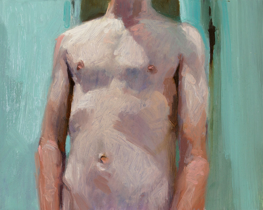 Screen Grab No. 7   8 x 10 inches  oil on panel