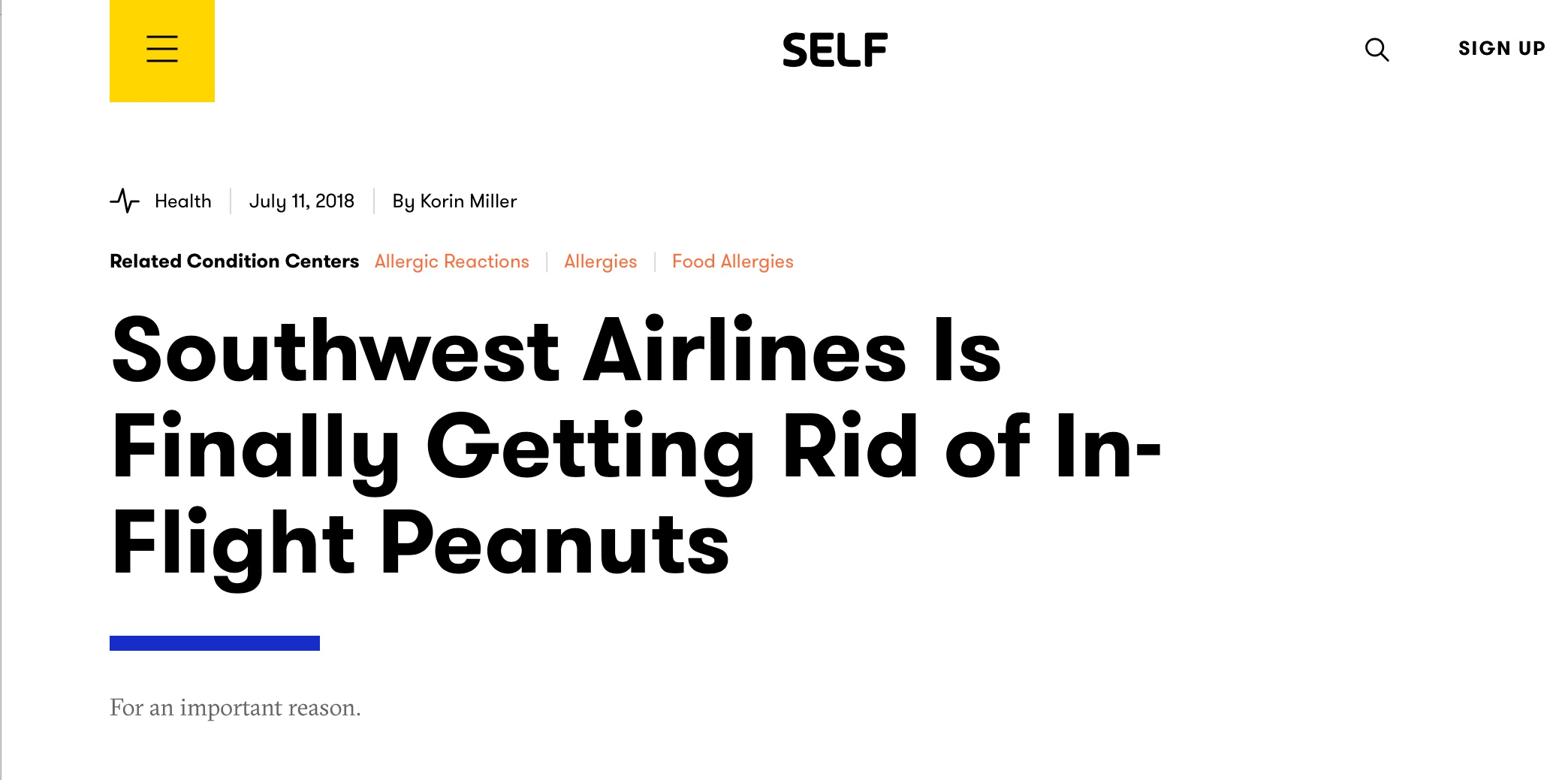 Soutwest Airlines finally rid of peanuts JUL18.jpeg