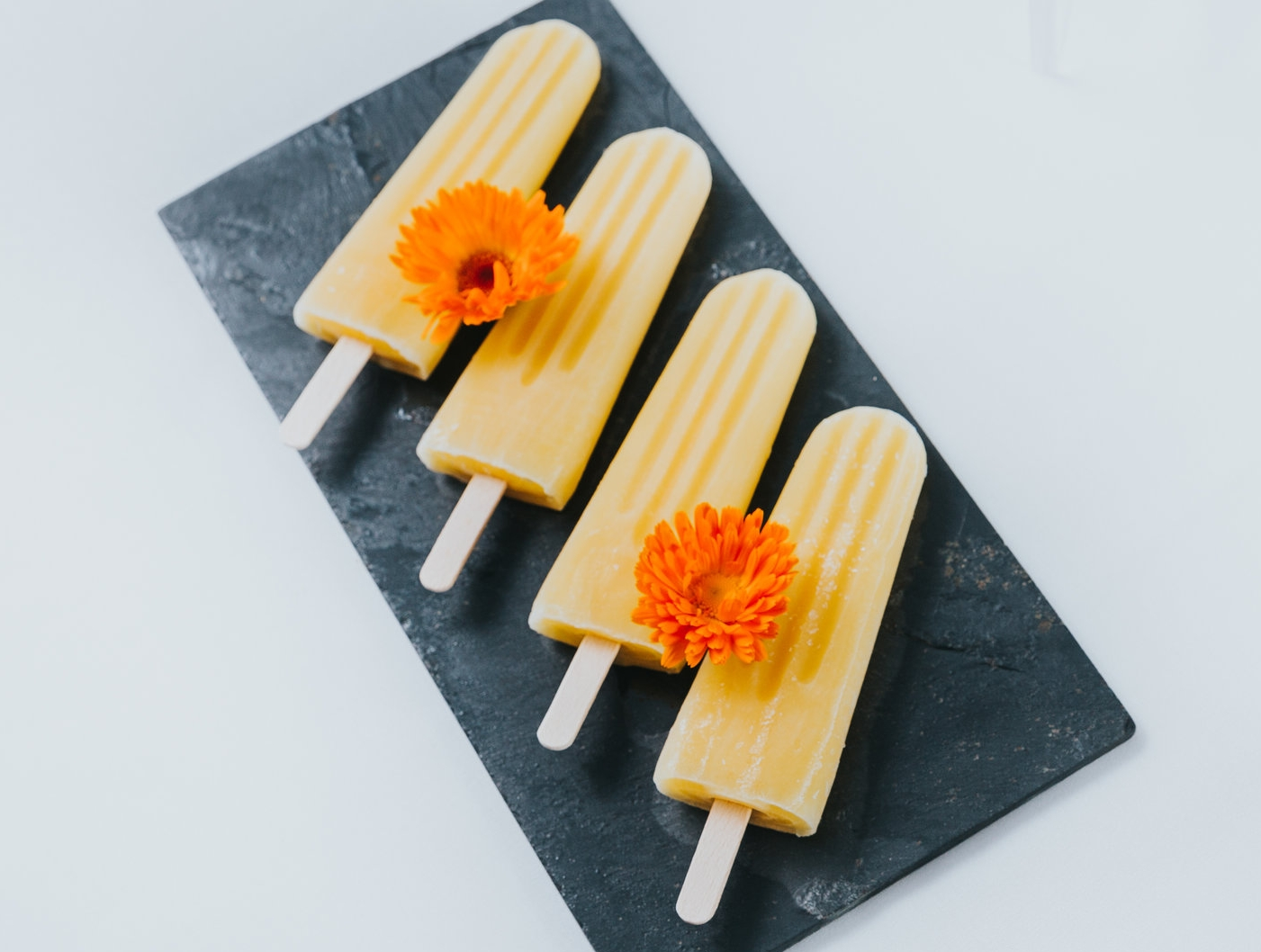 Afternoon Refreshments - Homemade summerfruit ice lollies and more.