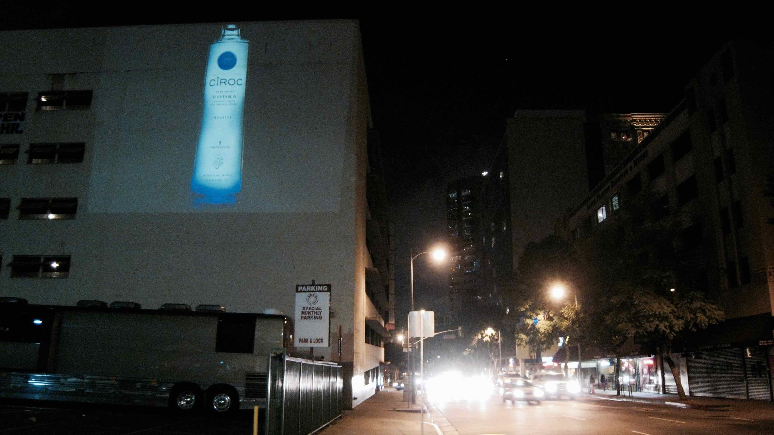 OMG | OnMedia |Guerilla Marketing | 2D Projection Media | California | Los Angeles | LA | Ciroc Vodka-2.jpg