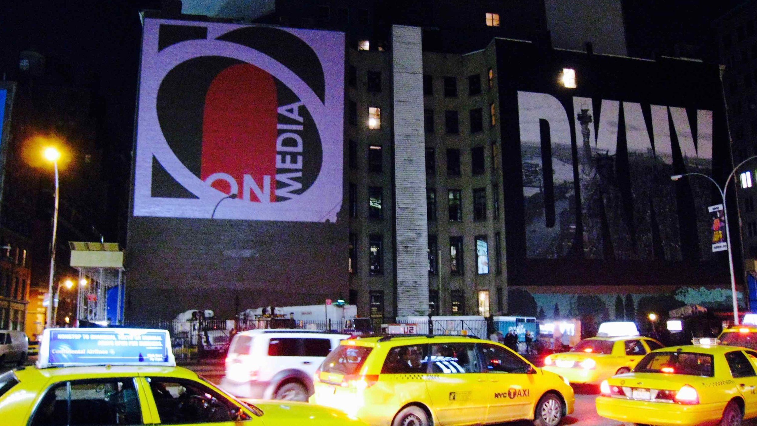 OMG | OnMedia |Guerilla Marketing | 2D Projection Media | OMG Logo | New York | NYC.jpg