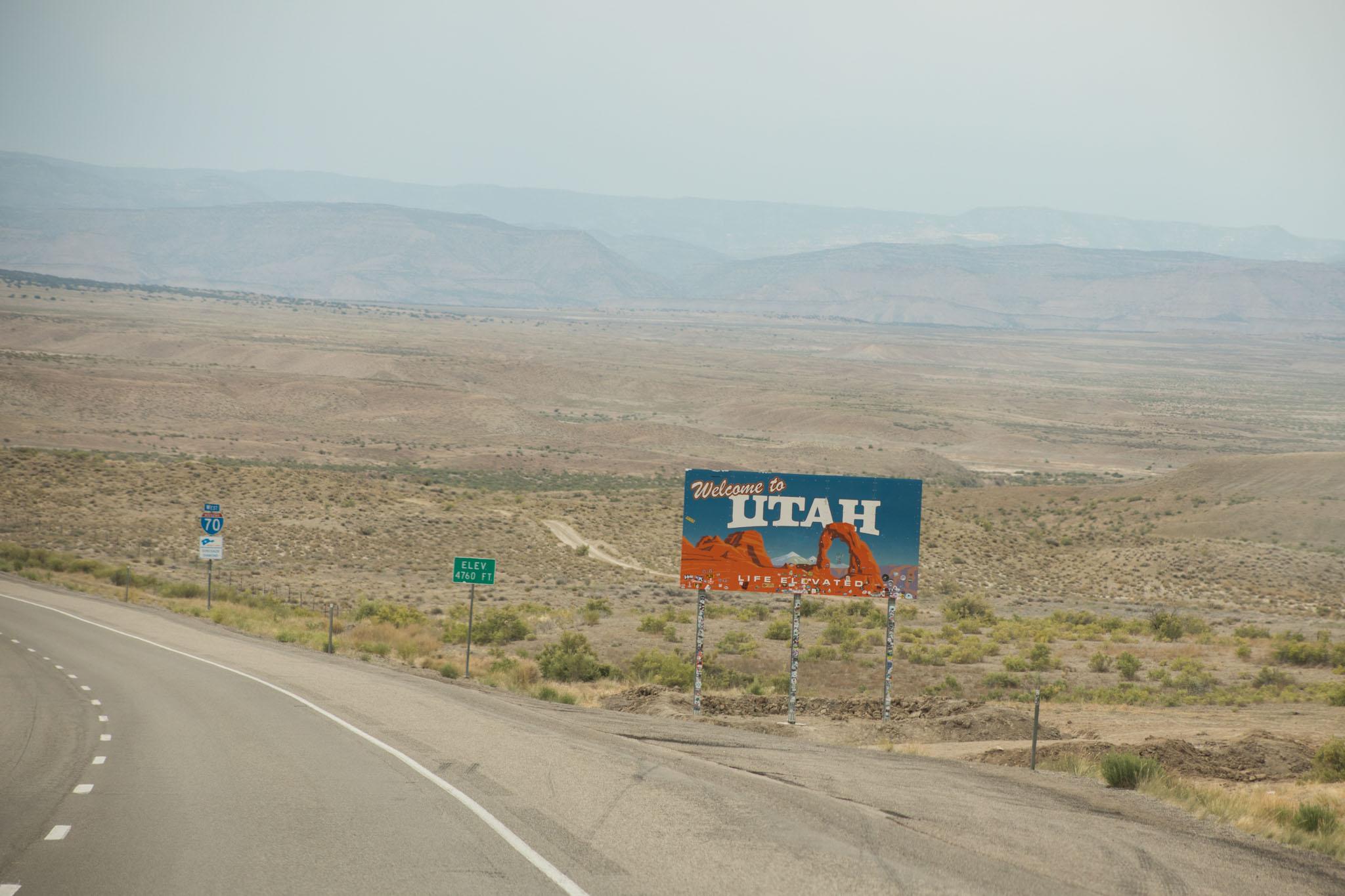 Utah Welcomes You