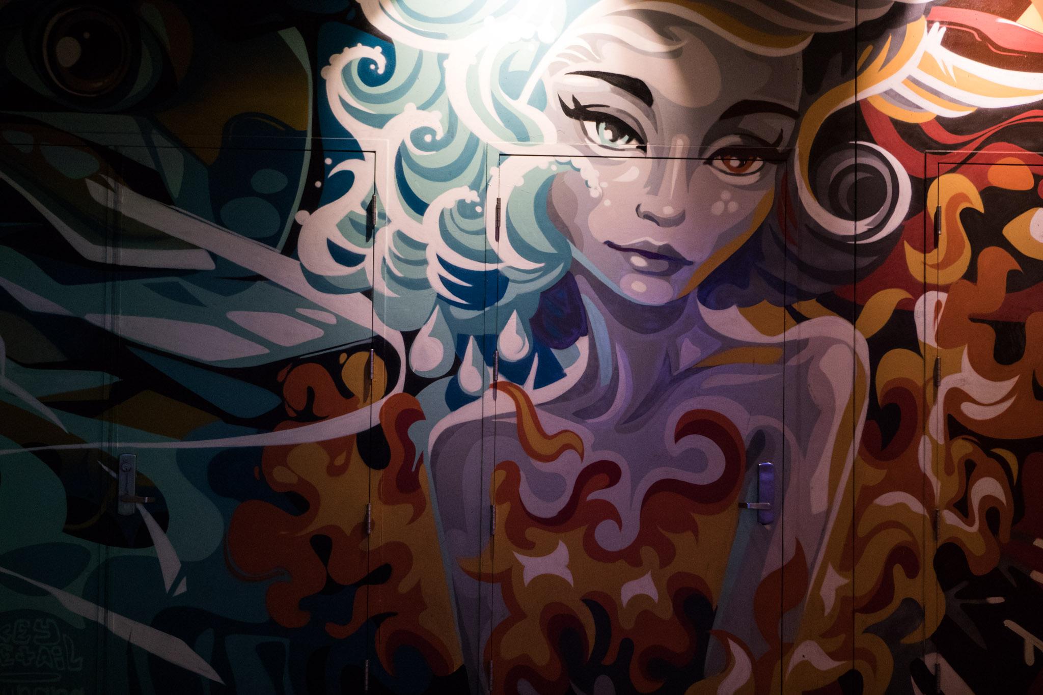 beautiful street art in Las Vegas of a woman.jpg