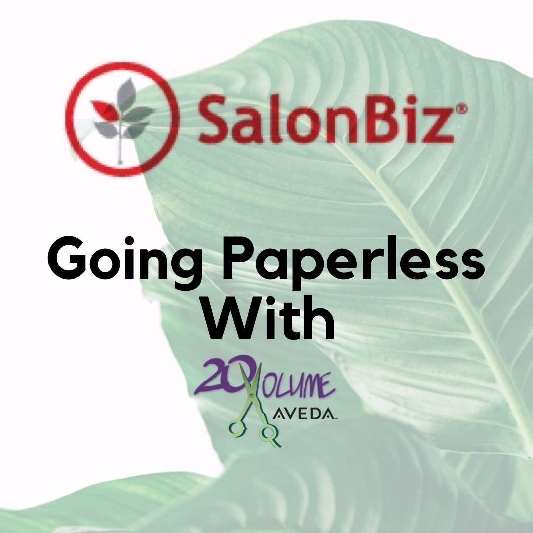 Click on the article to see how 20 Volume Salon is breaking the rules with being a  paperless and desk-less  salon.