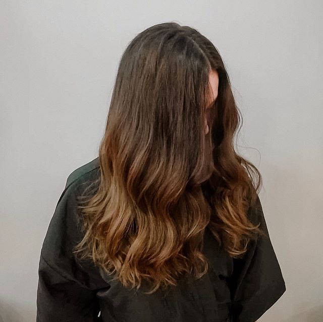 "Perfect ""natural"" brown. 😘. We have open appointments today! Text us at 480.786.9778 to make an appointment."