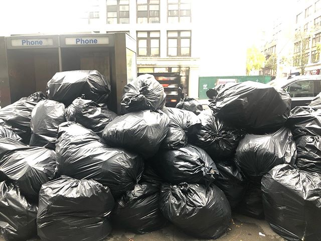 Rain or shine, NYC can't handle your trash.