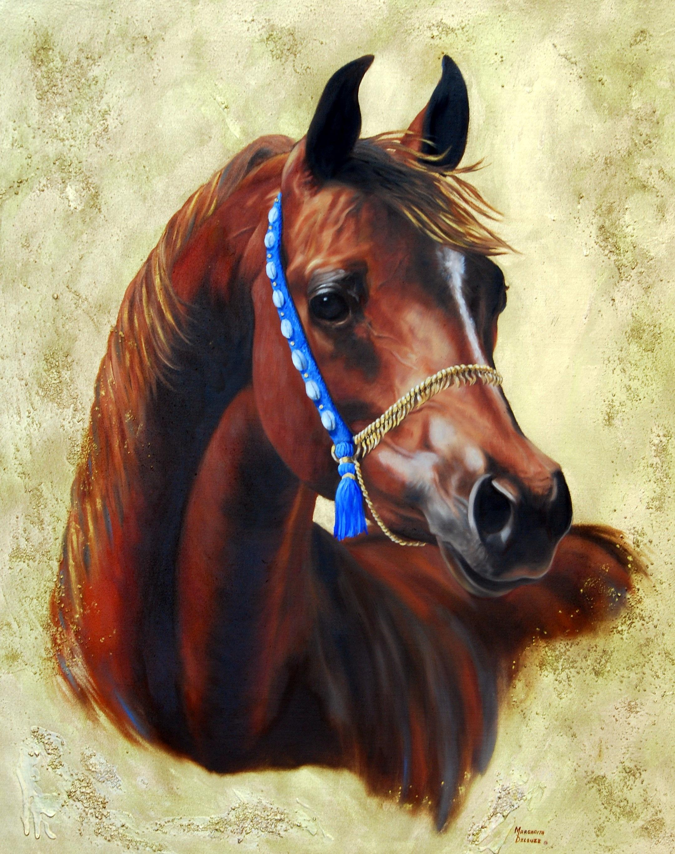 Golden  Spirit of Equine Royalty
