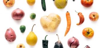 slightly misshaped produce courtesy of Misfits Market