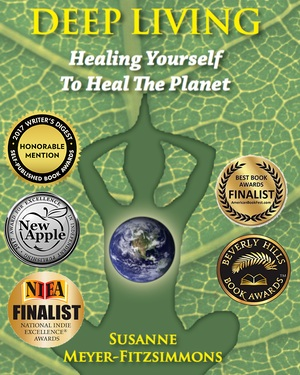 Review of Deep Living: Healing Yourself to Heal The Planet - Fitzsimmons combines multiple schools of thought on the environment and nature, promoting a deep ecological approach to life, one based on meaning, sustainability, health, and responsibility.~Hannah Phillips, Chronogram Magazine February 01, 2017