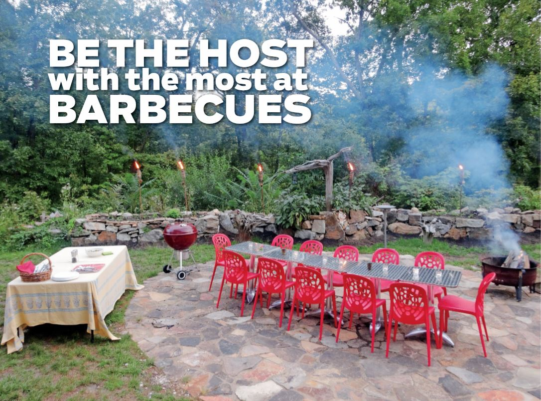 The secret is in the planning - Setting a beautiful, relaxing mood for your backyard barbecue is essential.~Story by Kathy Swanwick for 845 Today May 19, 2019