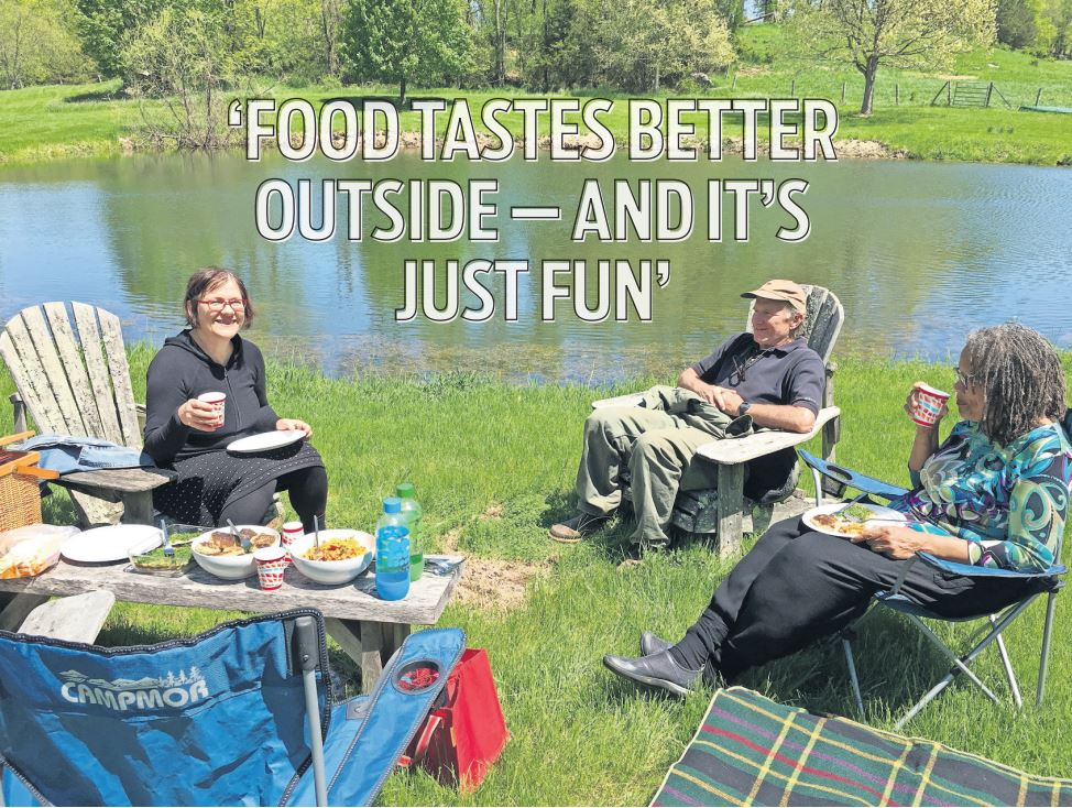 Love to picnic? - Tips from a pro.~Story by Kathy Swanwick for Times Herald Record/845 July 28, 2019