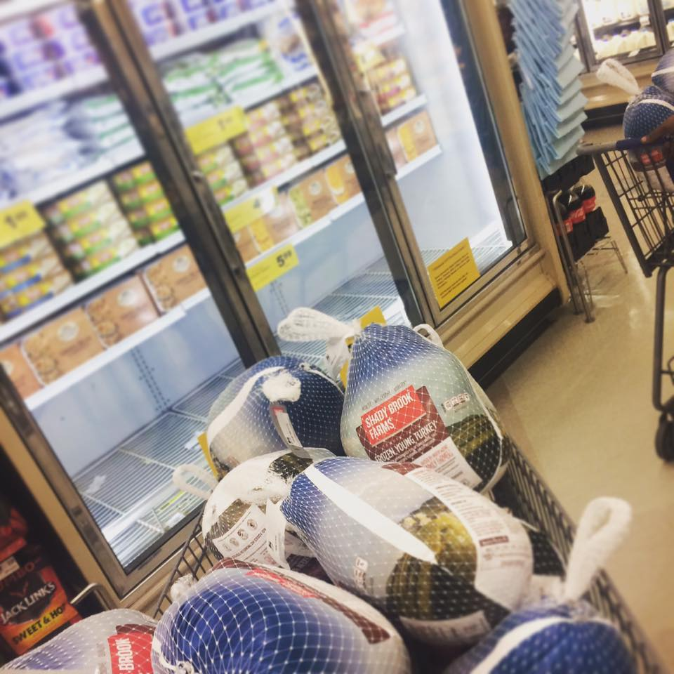 Purchasing The Rest of Food Lion's Turkeys before Turkey Bowl Tuesday (Free Turkey Giveaway)