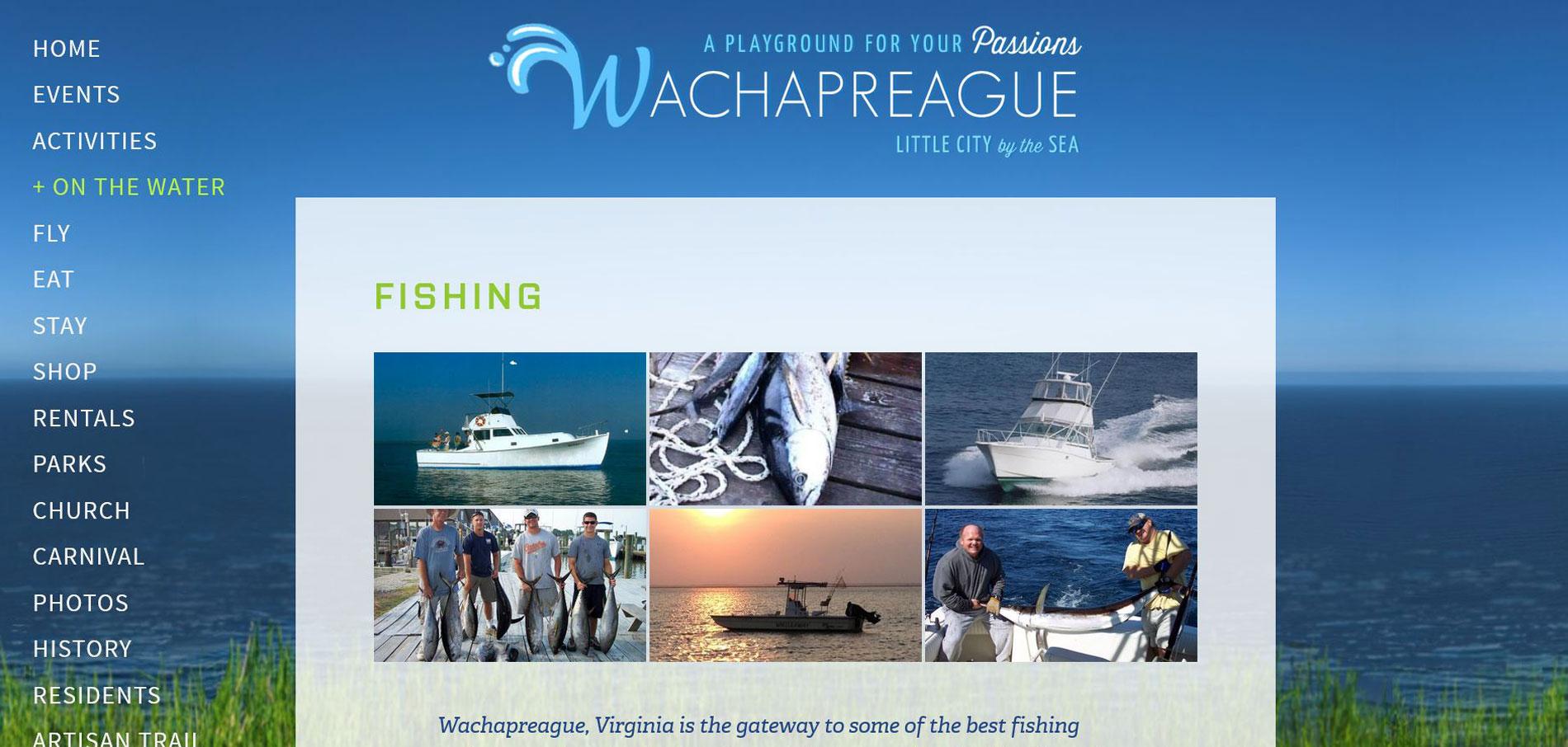 Wachapreague Tourism