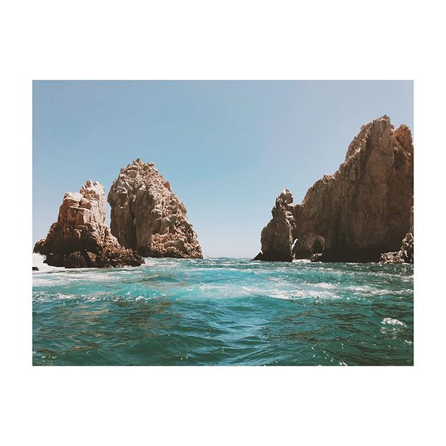 If the oceans roar Your greatness so will I • • •  #cabo #mexico #travel #ocean #rocks #visitmexico #cabosanlucas #vsco #vscocam